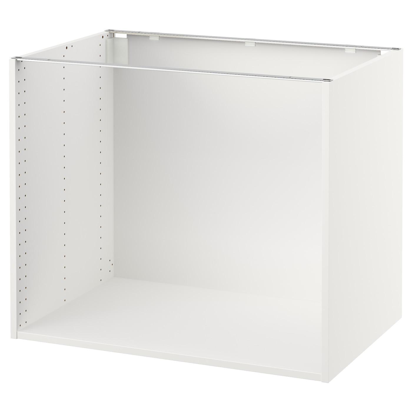 Sektion Base Cabinet Frame White Ikea