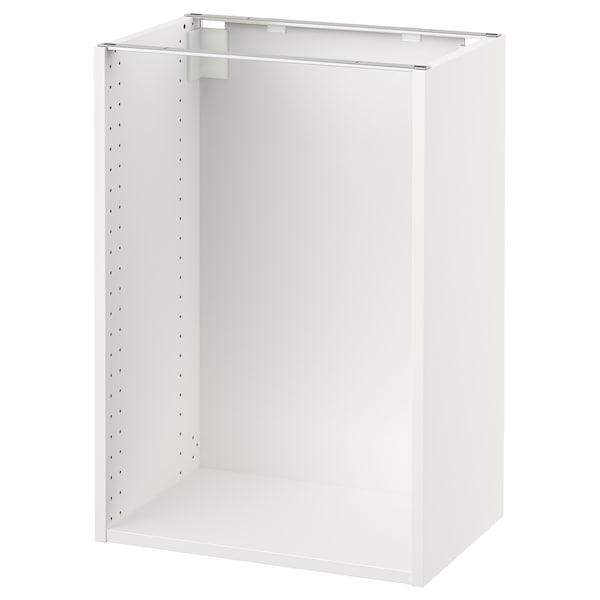 "SEKTION base cabinet frame white 14 3/8 "" 14 3/4 "" 21 "" 14 3/4 "" 14 3/4 "" 30 "" 3/4 """