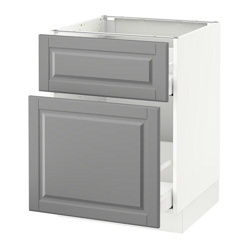 Ikea Bodbyn Kitchen Ikea Bodbyn Kitchen Grey And White: SEKTION Base Cabinet/p-out Storage/drawer