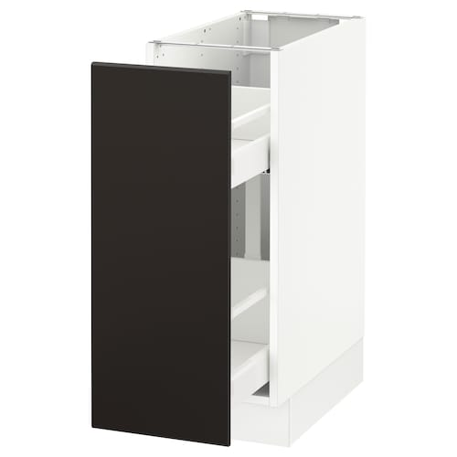 IKEA SEKTION Base cabinet w/pull-out organizers