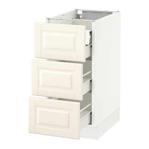 Us Cabinet: SEKTION Base Cabinet W/3 Fronts & 4 Drawers