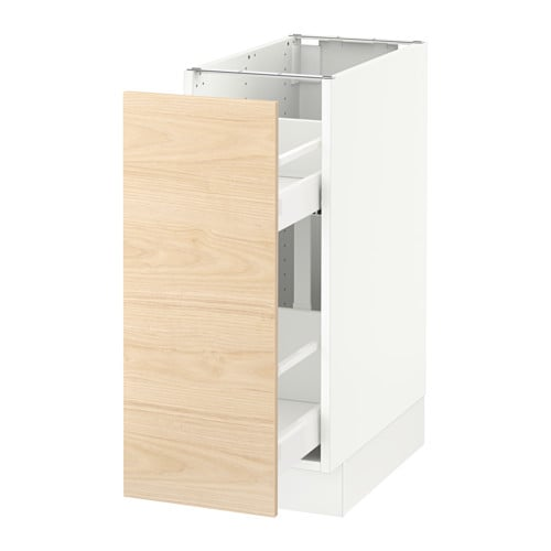 Sektion Base Cabinet W Pull Out Organizers