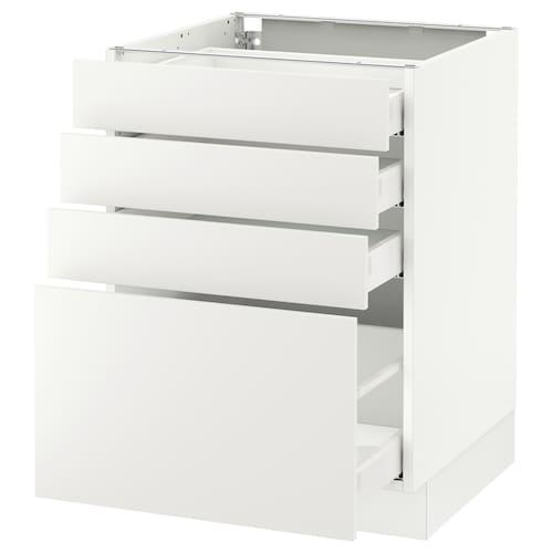 IKEA SEKTION Base cabinet with 4 drawers