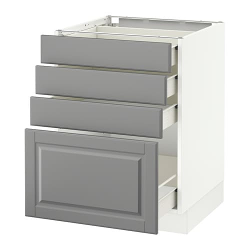 Us Cabinet: SEKTION Base Cabinet With 4 Drawers