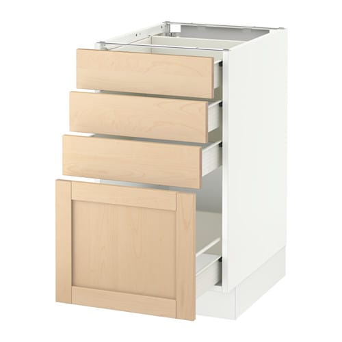 Sektion Base Cabinet With 4 Drawers  White, Fö, Björket. Under Desk Tray. Mini Table Lamps. Teal End Table. Desk Gifts. Wooden K Cup Drawer. My News Desk. Laptop Stands For Desks. Table Top Lighted Vanity Mirror
