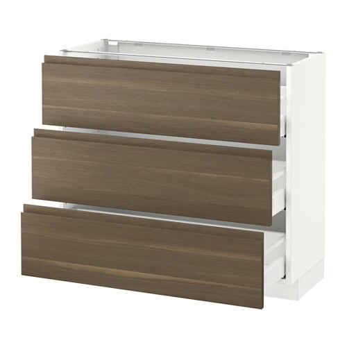 Good SEKTION Base Cabinet With 3 Drawers
