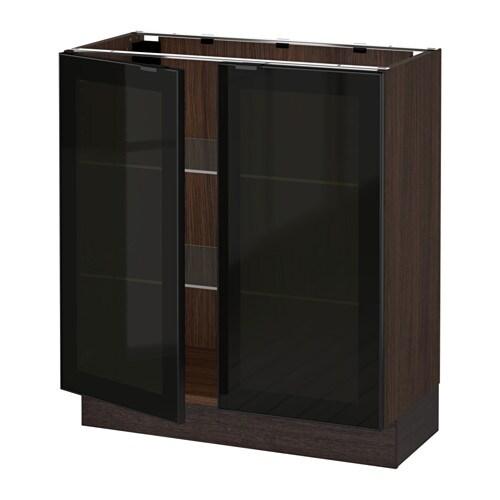 Ikea Glass Doors Kitchen