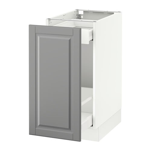 Sektion Base Cabinet With Pull Out Storage White Ma