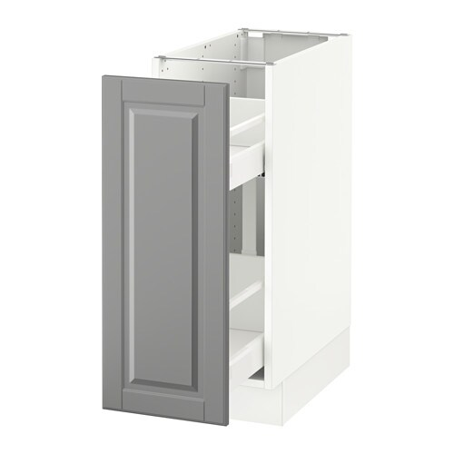 Sektion Base Cabinet With Pull Out Storage White