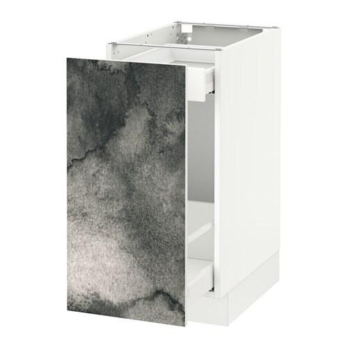 Elegant SEKTION Base Cabinet With Pull Out Storage IKEA