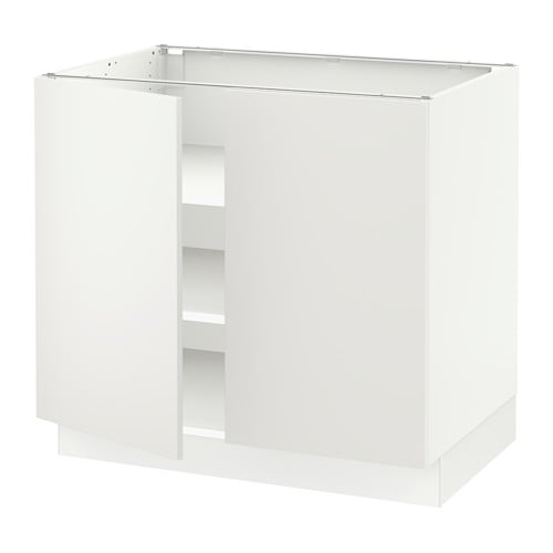 Sektion Base Cabinet With Shelves 2 Doors