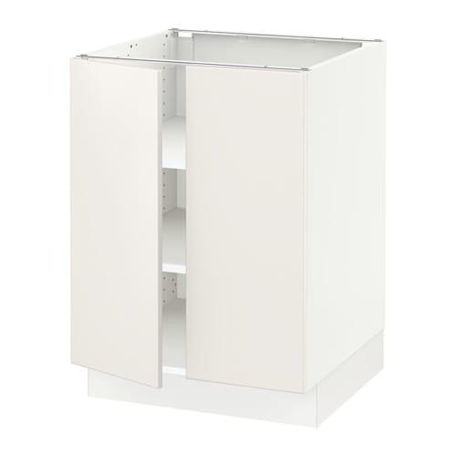 Sektion Base Cabinet For Sorting 1 Door: SEKTION Base Cabinet With Shelves/2 Doors