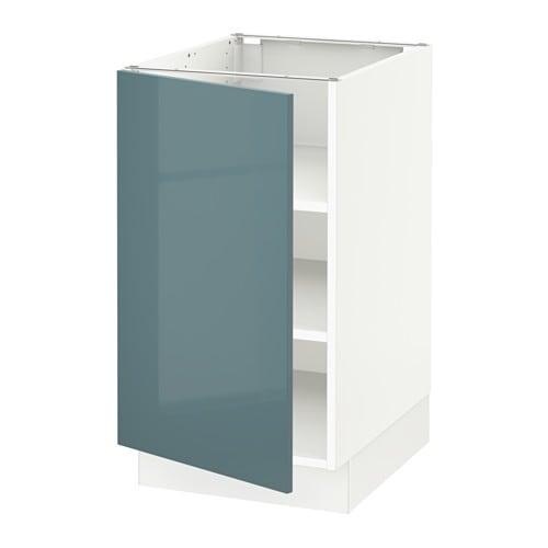 Us Cabinet: SEKTION Base Cabinet With Shelves