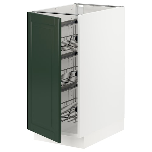 IKEA SEKTION Base cabinet with wire baskets