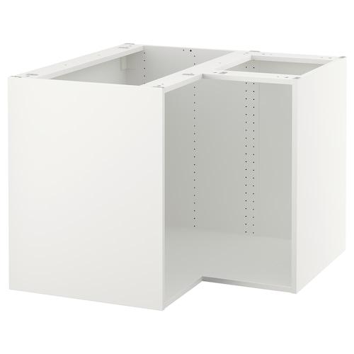 Sektion Base Corner Cabinet Frame White 38x38x30 Ikea