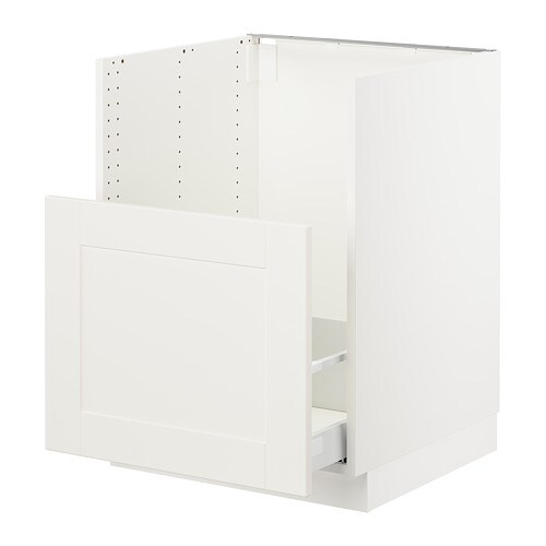 Peachy Sektion Cabinet F Bredsjon Sink 1 Front White Maximera Grimslov Off White Best Image Libraries Barepthycampuscom