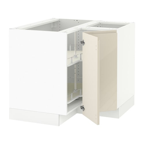 Cliqstudios Kitchen Cabinet Installation Guide Chapter: SEKTION Corner Base Cabinet With Carousel