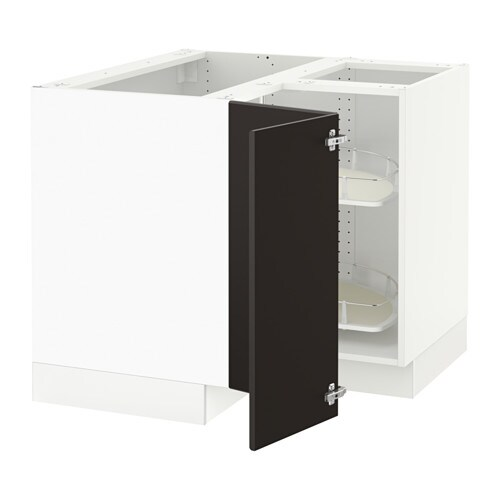 SEKTION Corner Base Cabinet With Carousel