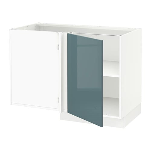 Sektion Corner Base Cabinet With Shelf Kallarp High