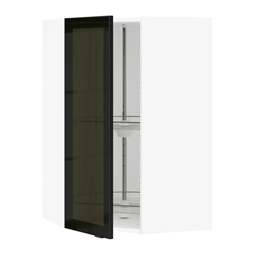 Ikea Patrull Kindersicherung ~ SEKTION Corner wall cab carousel glass door IKEA The door can be