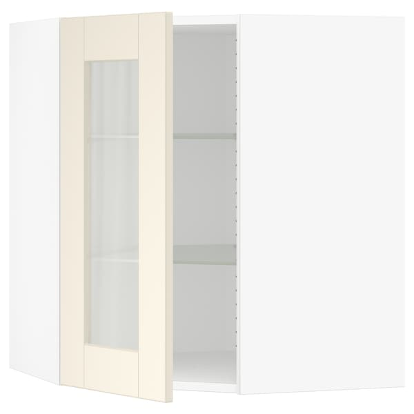 Sektion Corner Wall Cabinet With Gl
