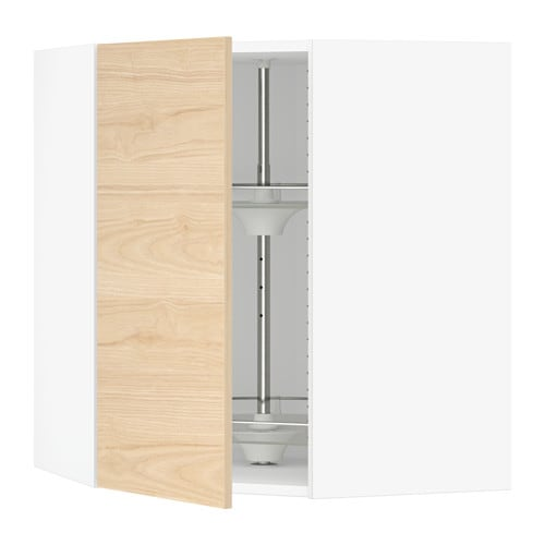 SEKTION Corner Wall Cabinet With Carousel