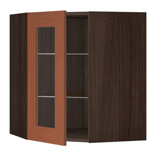 Ikea Patrull Kindersicherung ~ SEKTION Corner wall cabinet with glass door IKEA The door can be