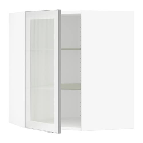 Sektion corner wall cabinet with glass door white jutis frosted sektion corner wall cabinet with glass door planetlyrics Image collections