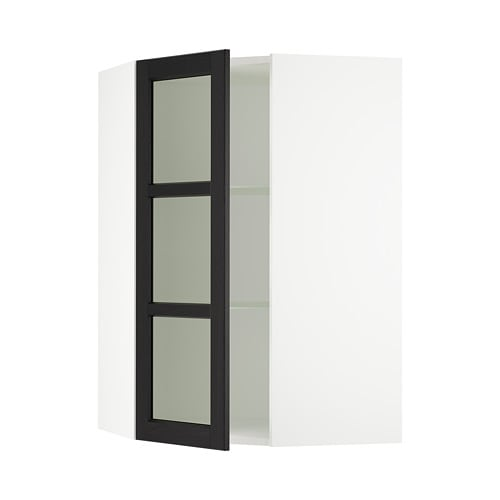 Sektion Corner Wall Cabinet With Gl Door