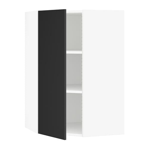 SEKTION Corner Wall Cabinet With Shelves