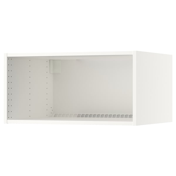 """SEKTION wall top cabinet frame white 23 5/8 """" 24 """" 30 """" 24 """" 24 """" 15 """" 3/4 """""""