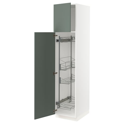 IKEA SEKTION High cabinet w/pull-out organizers