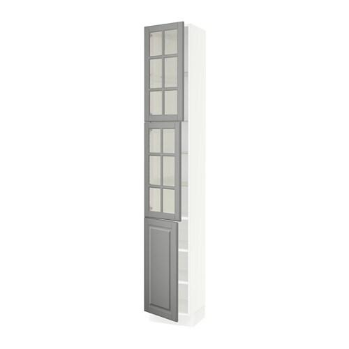 SEKTION High Cabinet W 2 Glass Door/1 Door