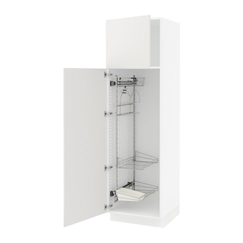 Sektion High Cabinet W Pull Out Organizers