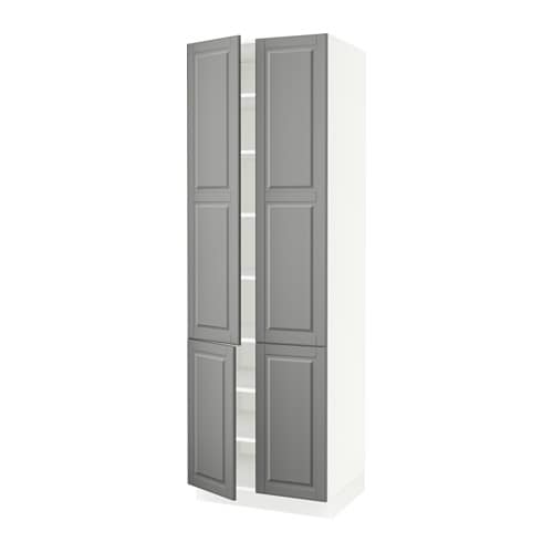 Ikea Kitchen Cost: SEKTION High Cabinet With Shelves & 4 Doors