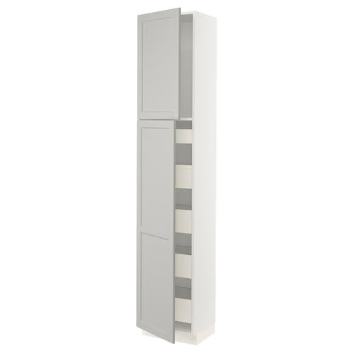IKEA SEKTION High cabinet w/2 doors & 5 drawers