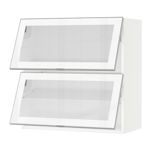 SEKTION Horizontal Wall Cabinet/2glass Door