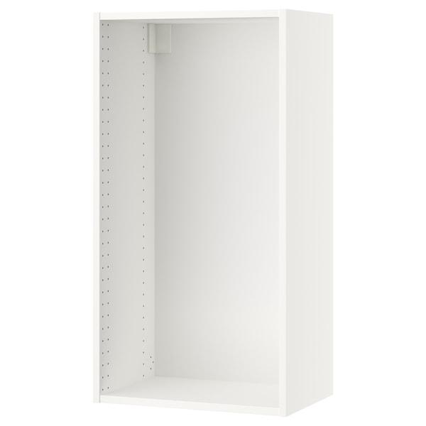 "SEKTION Wall cabinet frame, white, 21x14 3/4x40 """