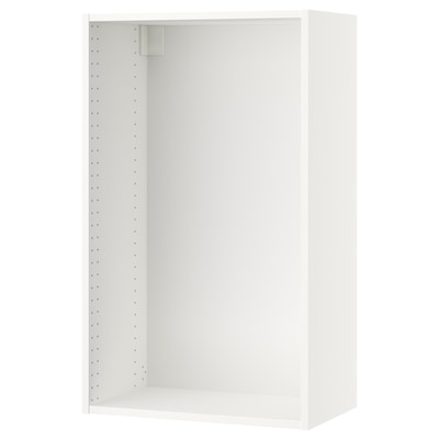 SEKTION Wall cabinet frame, white, 24x14 3/4x40 ""