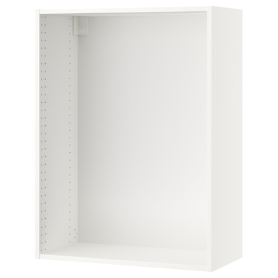 SEKTION Wall cabinet frame, white, 30x14 3/4x40 ""