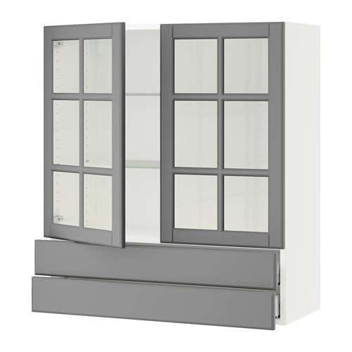 Fresh Wall Cabinet With Glass Doors Concept