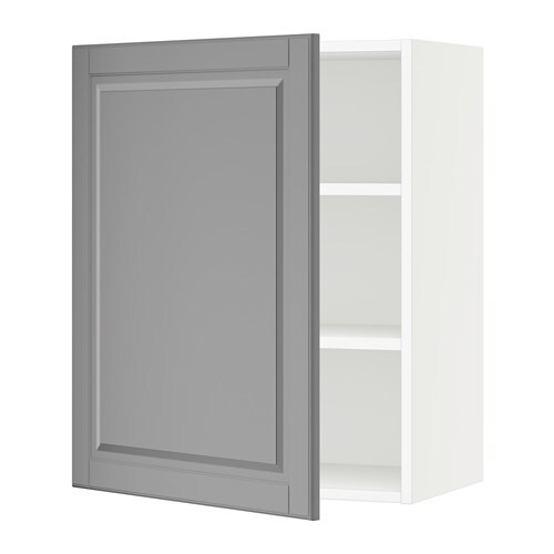 Ikea Kitchen Bodbyn Grey: White, Bodbyn Gray, 24x15x30 ""