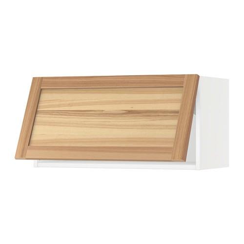 Sektion Wall Cabinet Horizontal Torhamn Natural Ash 30x15x15 Ikea