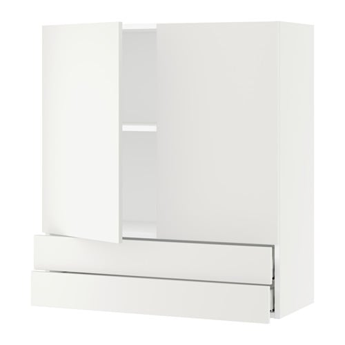 Kitchen Wall Cabinets With Drawers: SEKTION Wall Cabinet W/2 Doors+2 Drawers