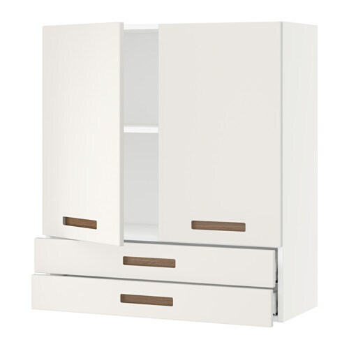 Sektion wall cabinet w 2 doors 2 drawers white m rsta for Kitchen ideas w2 5sh