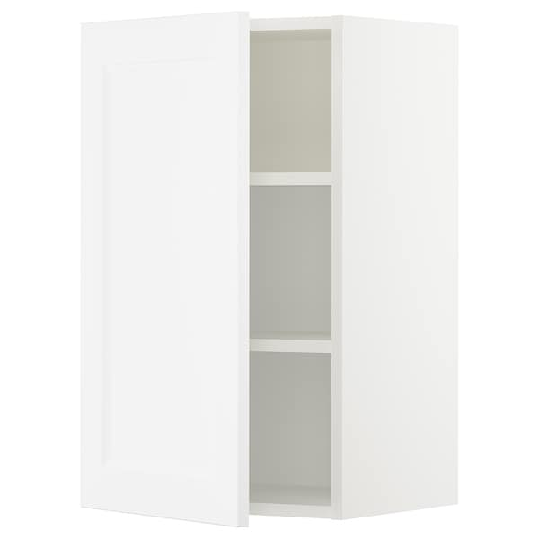 "SEKTION Wall cabinet, white/Axstad matt white, 18x15x30 """