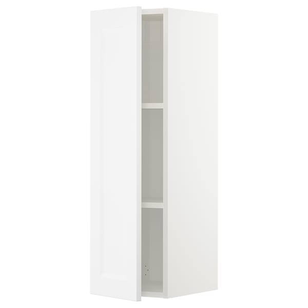 SEKTION Wall cabinet, white/Axstad matt white, 12x15x40 ""