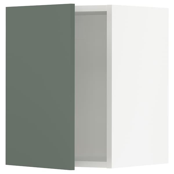 "SEKTION Wall cabinet, white/Bodarp gray-green, 15x15x20 """