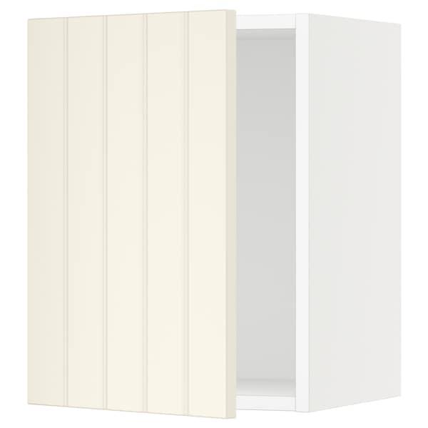"SEKTION Wall cabinet, white/Hittarp off-white, 15x15x20 """