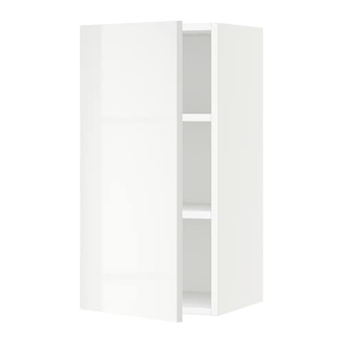 wall cabinet white ringhult high gloss white 15x15x30 ikea